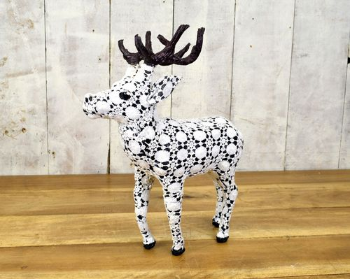 Lace Standing Reindeer 36cm